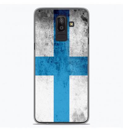 Coque en silicone Samsung Galaxy J8 2018 - Drapeau Marseille