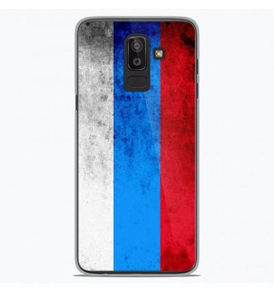 Coque en silicone Samsung Galaxy J8 2018 - Drapeau Russie