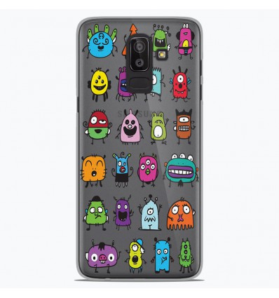 Coque en silicone Samsung Galaxy J8 2018 - Alien