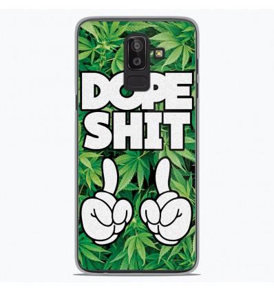 Coque en silicone Samsung Galaxy J8 2018 - Dope Shit
