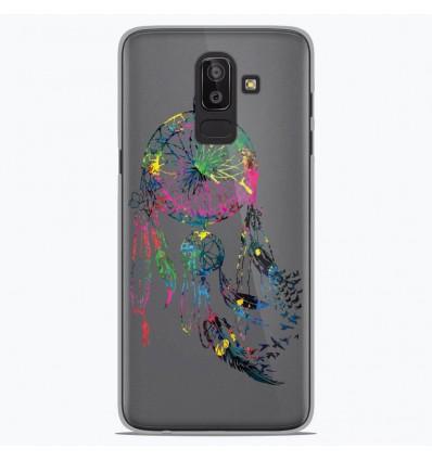 Coque en silicone Samsung Galaxy J8 2018 - Dreamcatcher Gris