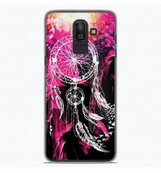 Coque en silicone Samsung Galaxy J8 2018 - Dreamcatcher Rose