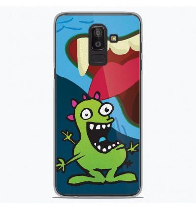 Coque en silicone Samsung Galaxy J8 2018 - Happy Monster