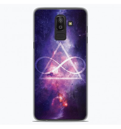 Coque en silicone Samsung Galaxy J8 2018 - Infinite Triangle