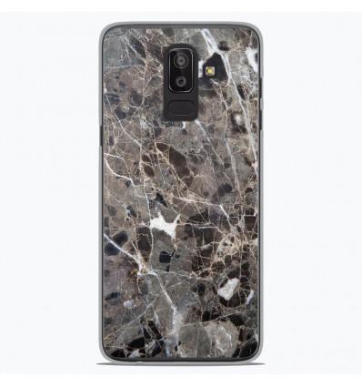 Coque en silicone Samsung Galaxy J8 2018 - Marbre