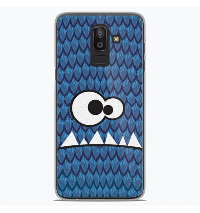 Coque en silicone Samsung Galaxy J8 2018 - Monster