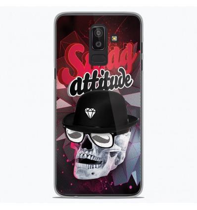 Coque en silicone Samsung Galaxy J8 2018 - Swag Attitude