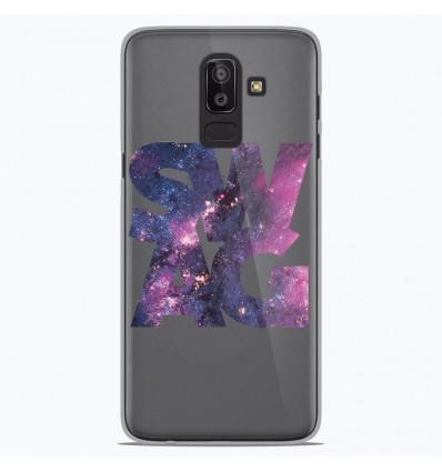 Coque en silicone Samsung Galaxy J8 2018 - Swag Space