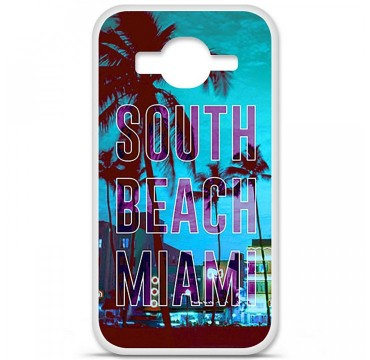 Coque en silicone Samsung Galaxy Core Prime / Core Prime VE - South beach miami