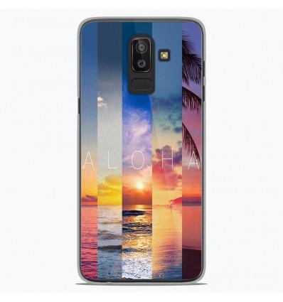 Coque en silicone Samsung Galaxy J8 2018 - Aloha