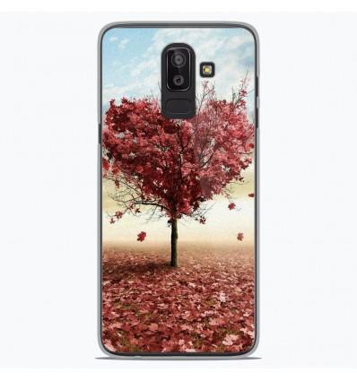 Coque en silicone Samsung Galaxy J8 2018 - Arbre Love