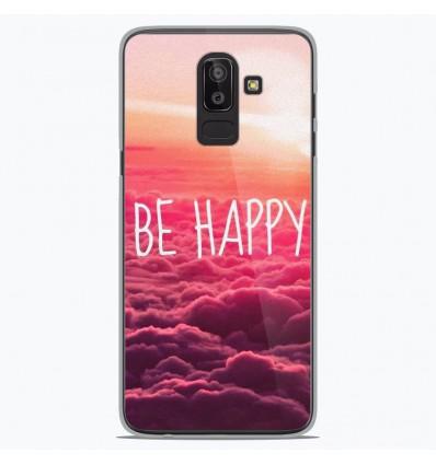 Coque en silicone Samsung Galaxy J8 2018 - Be Happy nuage