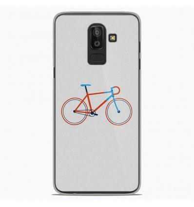 Coque en silicone Samsung Galaxy J8 2018 - Bike color Hipster