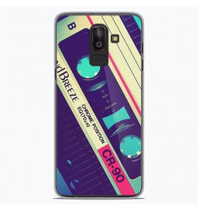 Coque en silicone Samsung Galaxy J8 2018 - Cassette Vintage