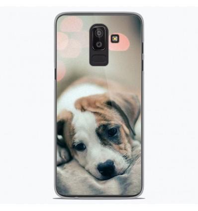 Coque en silicone Samsung Galaxy J8 2018 - Chiot rêveur