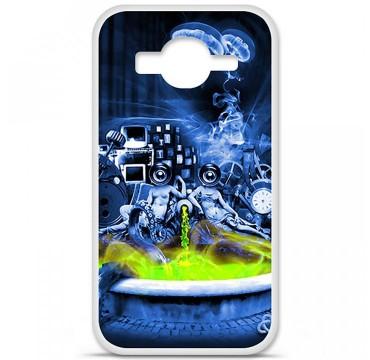 Coque en silicone pour Samsung Galaxy Core Prime / Core Prime VE - Fontaine