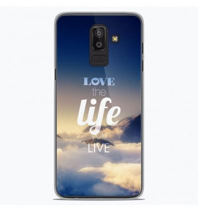 Coque en silicone Samsung Galaxy J8 2018 - Citation 06