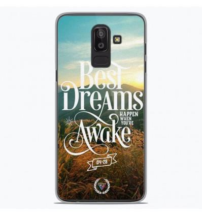 Coque en silicone Samsung Galaxy J8 2018 - Citation 07