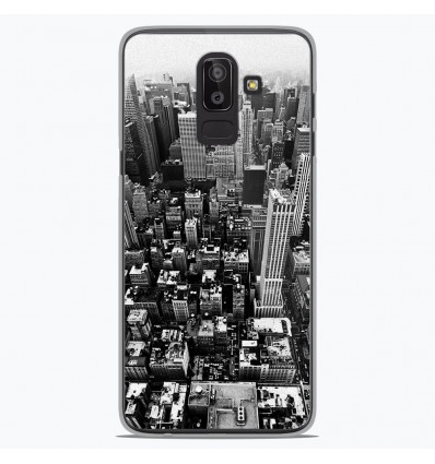 Coque en silicone Samsung Galaxy J8 2018 - City