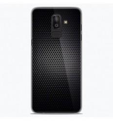Coque en silicone Samsung Galaxy J8 2018 - Dark Metal