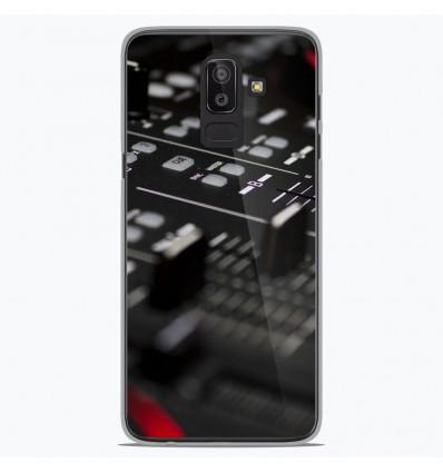 Coque en silicone Samsung Galaxy J8 2018 - Dj Mixer