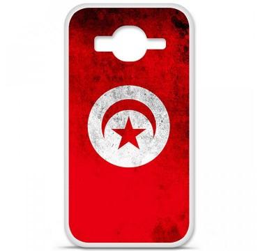 Coque en silicone Samsung Galaxy Core Prime / Core Prime VE - Drapeau Tunisie
