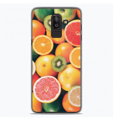 Coque en silicone Samsung Galaxy J8 2018 - Fruits
