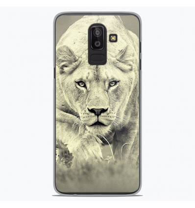 Coque en silicone Samsung Galaxy J8 2018 - Lionne