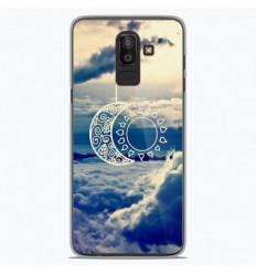 Coque en silicone Samsung Galaxy J8 2018 - Lune soleil