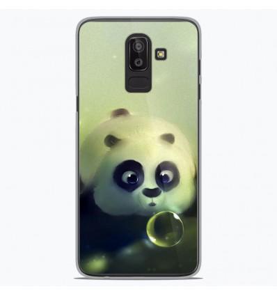 Coque en silicone Samsung Galaxy J8 2018 - Panda Bubble