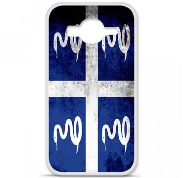 Coque en silicone pour Samsung Galaxy Core Prime / Core Prime VE - Drapeau Martinique