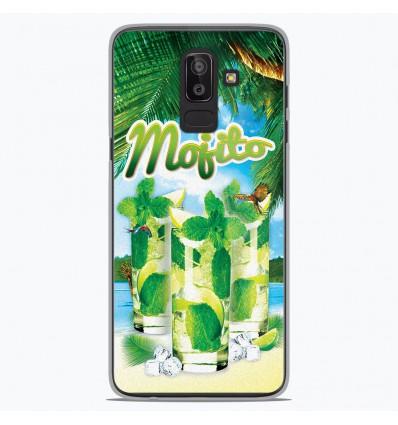 Coque en silicone Samsung Galaxy J8 2018 - Mojito Plage