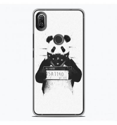 Coque en silicone Wiko View 2 - BS Bad Panda