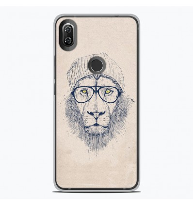 Coque en silicone Wiko View 2 - BS Cool Lion