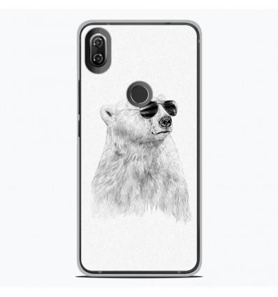 Coque en silicone Wiko View 2 - BS Sunny bear