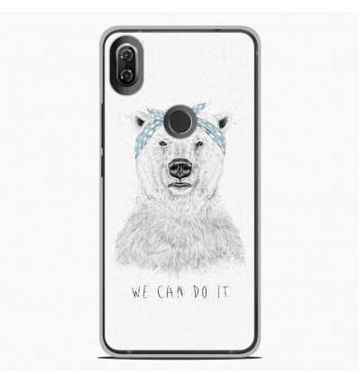 Coque en silicone Wiko View 2 - BS We can do it