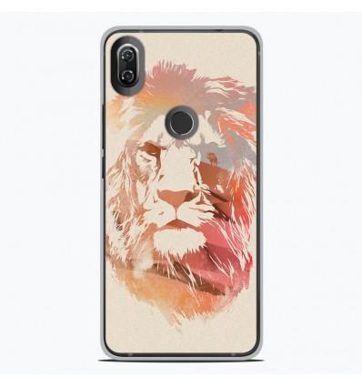 Coque en silicone Wiko View 2 - RF Desert Lion