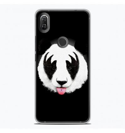 Coque en silicone Wiko View 2 - RF Kiss Of Panda
