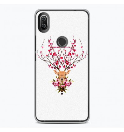 Coque en silicone Wiko View 2 - RF Spring deer