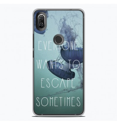 Coque en silicone Wiko View 2 - Escape