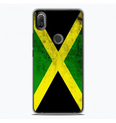 Coque en silicone Wiko View 2 - Drapeau Jamaïque