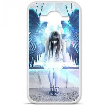 Coque en silicone Samsung Galaxy Core Prime / Core Prime VE - Angel