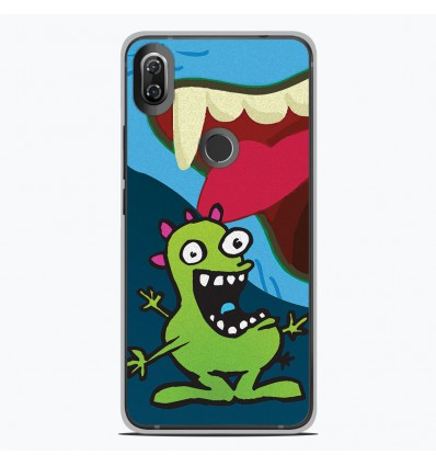 Coque en silicone Wiko View 2 - Happy Monster