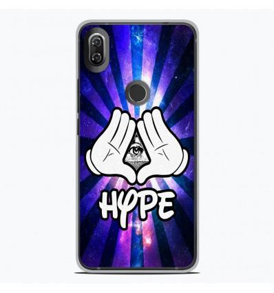 Coque en silicone Wiko View 2 - Hype Illuminati