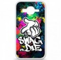 Coque en silicone Samsung Galaxy Core Prime / Core Prime VE - Swag or die
