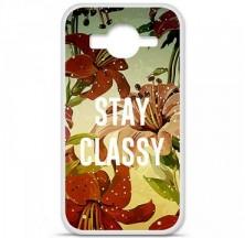 Coque en silicone Samsung Galaxy Core Prime / Core Prime VE - Stay classy
