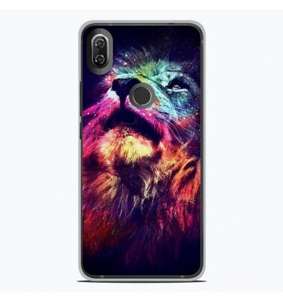 Coque en silicone Wiko View 2 - Lion swag