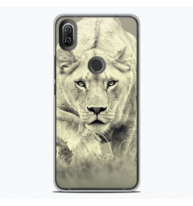 Coque en silicone Wiko View 2 - Lionne