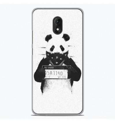 Coque en silicone Wiko Lenny 5 - BS Bad Panda