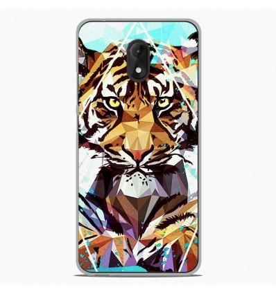 Coque en silicone Wiko Lenny 5 - ML It Tiger